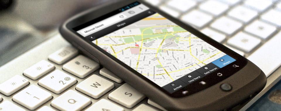 Visualice sus vehículos en su Tablet o Celular